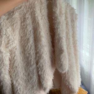 Faux fur teddy coat!!!